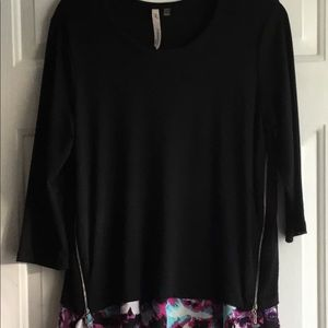 NY PETITE COLLECTION TUNIC